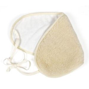 Nierenwärmer Schurwolle mit Bändchen
