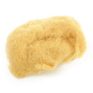 Handfilzwolle gelb