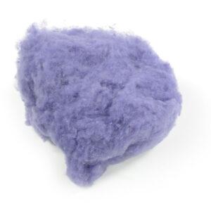 Handfilzwolle lila