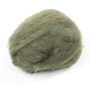 Handfilzwolle dunkelgrün