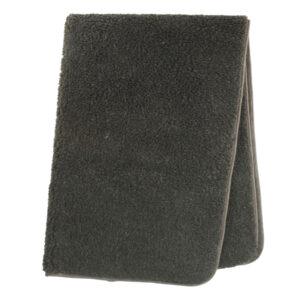 Schafwoll-Decke Wollflor braun