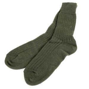 Socke mittel, khaki