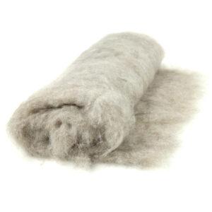 Alpakawoll-Vlies Naturfarben