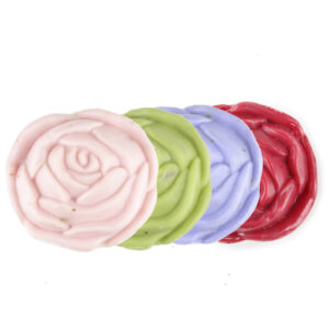 Schafmilch-Seife Rose
