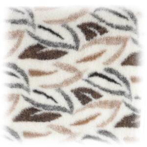 Wollflor Muster Blätter