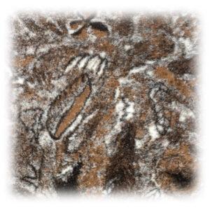 Wollflor Muster Herbstlaub